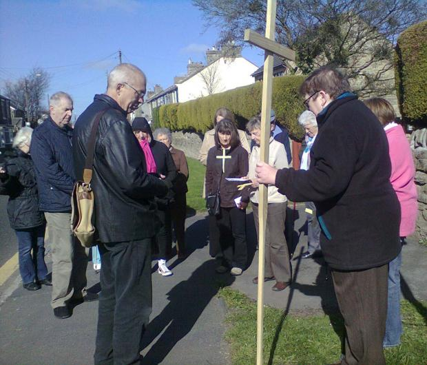 Walk of Witness through Toft Hill and Low Etherley