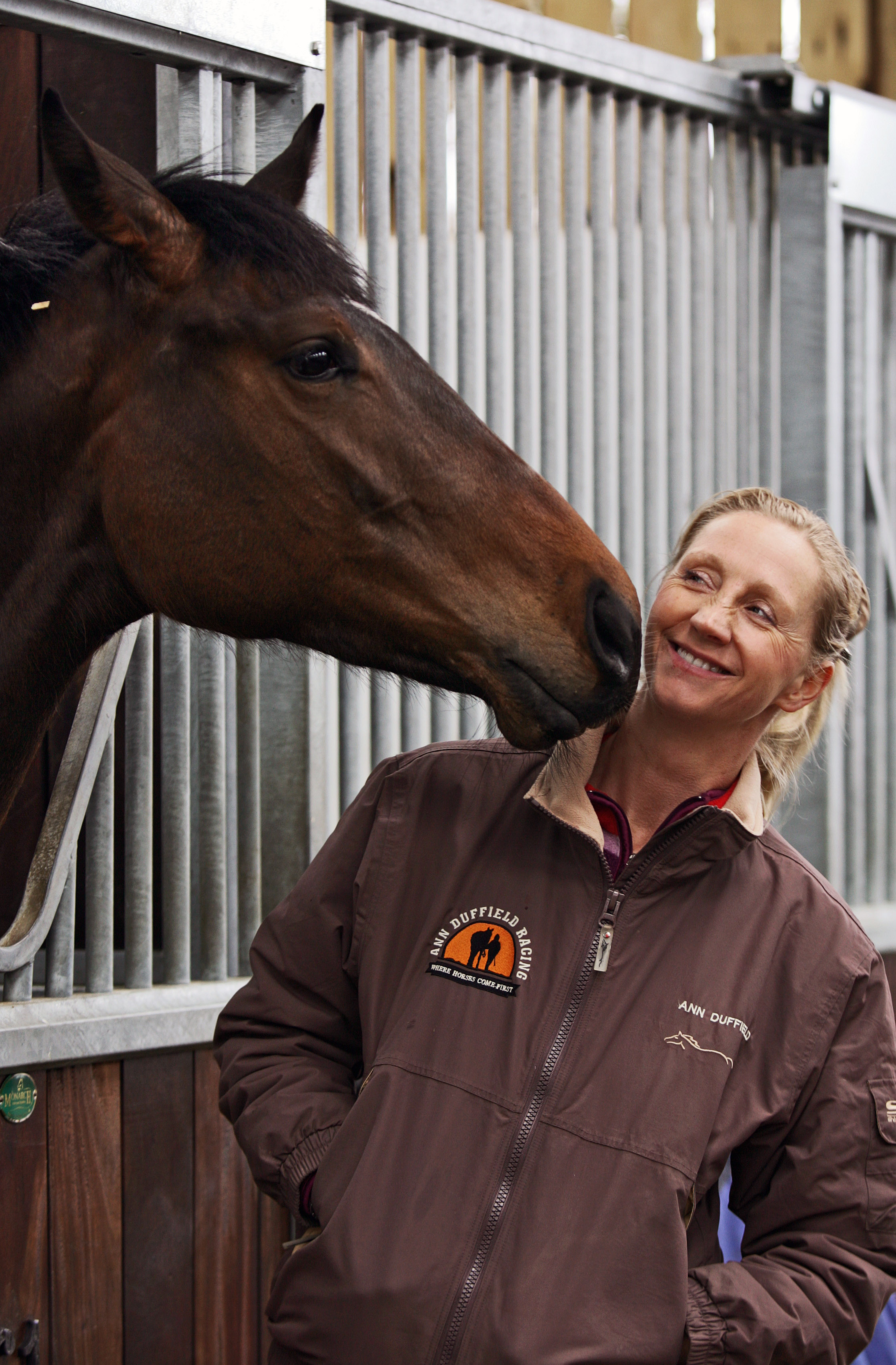 Ann Duffield at her North Yorkshire stables
