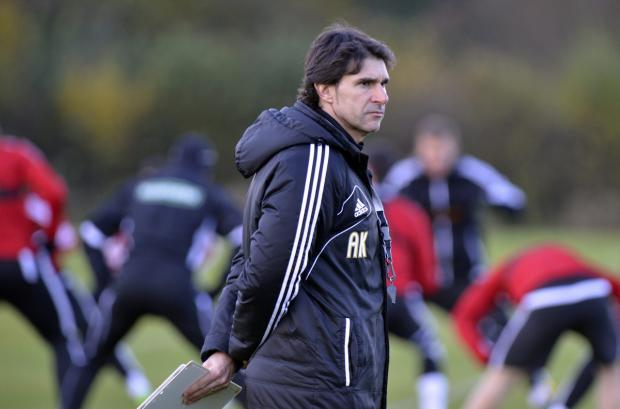 SPANISH REVOLUTION? Head coach Aitor Karanka has assessed the Championship over the last six months or so