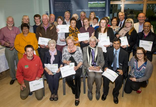 Winners of Making a Difference in Richmondshire Awards