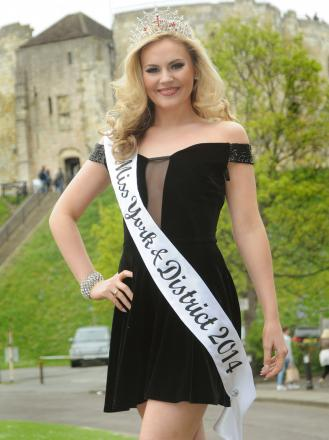 ON SONG: Ellie Mae Potter, who has been crowned Miss York