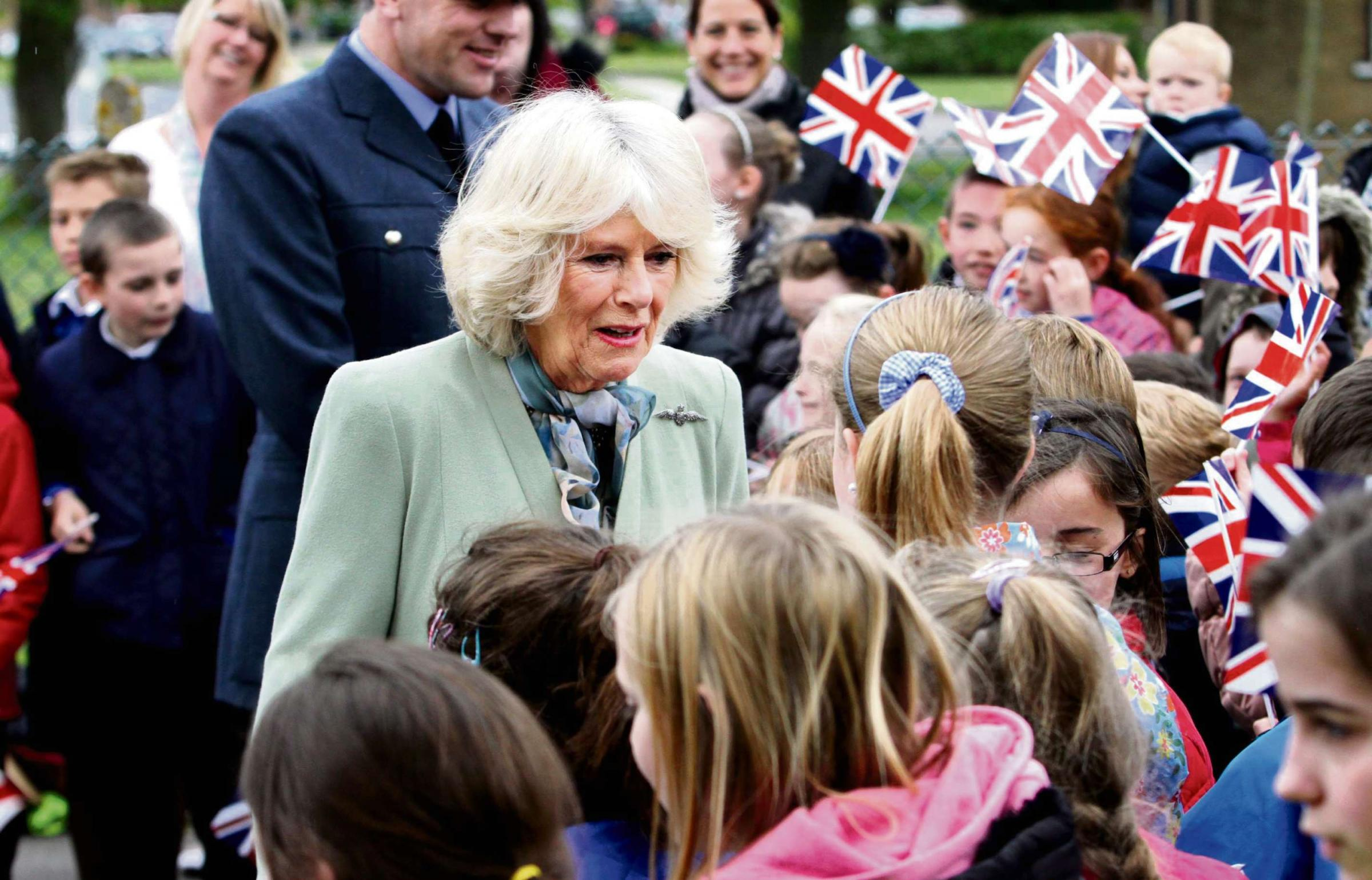Duchess of Cornwall visits RAF Leeming to open new medical centre
