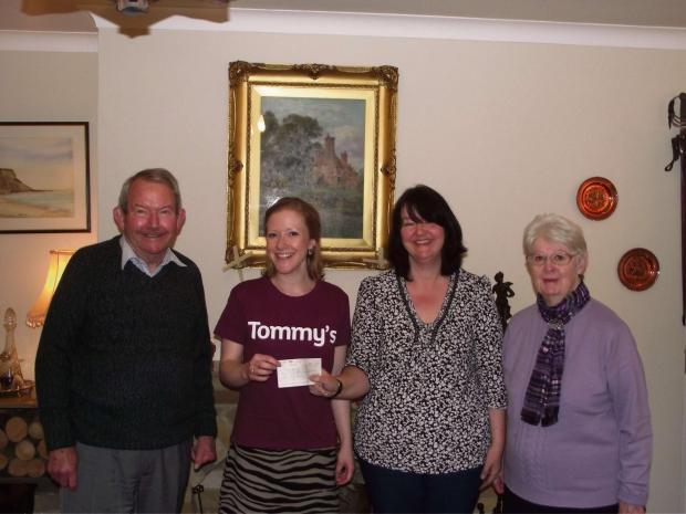 CHARITY SUCCESS: From left, Keith Carley, Tommy's
