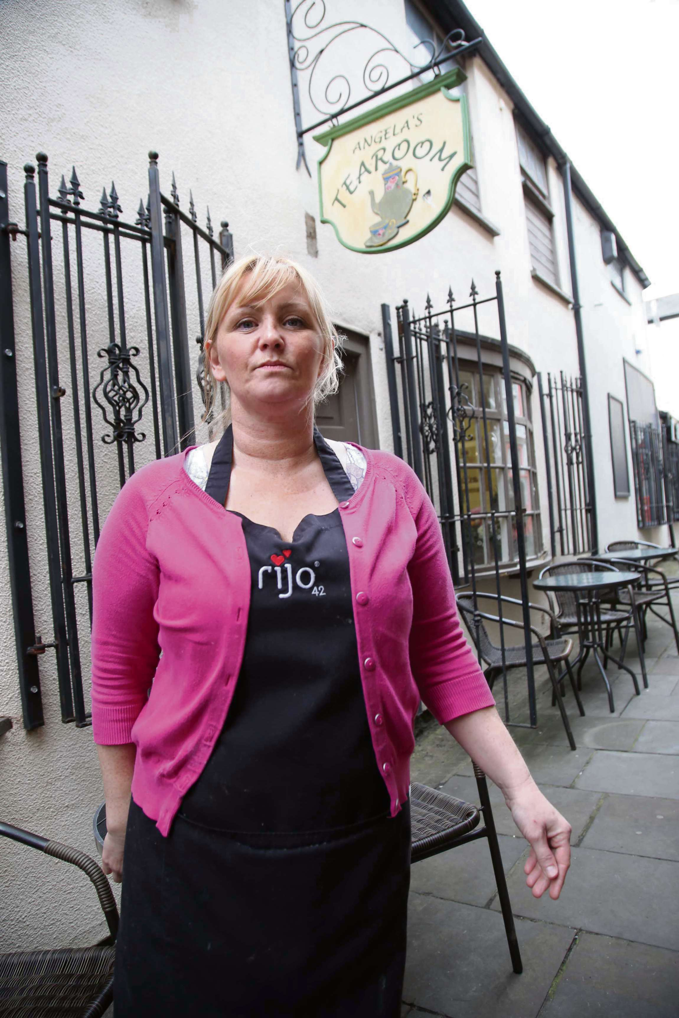 Cafe owner angry over long-running improvement work