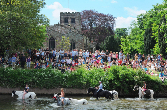 Appleby Horse Fair, in Cumbria, which takes place between June 5 and 11.