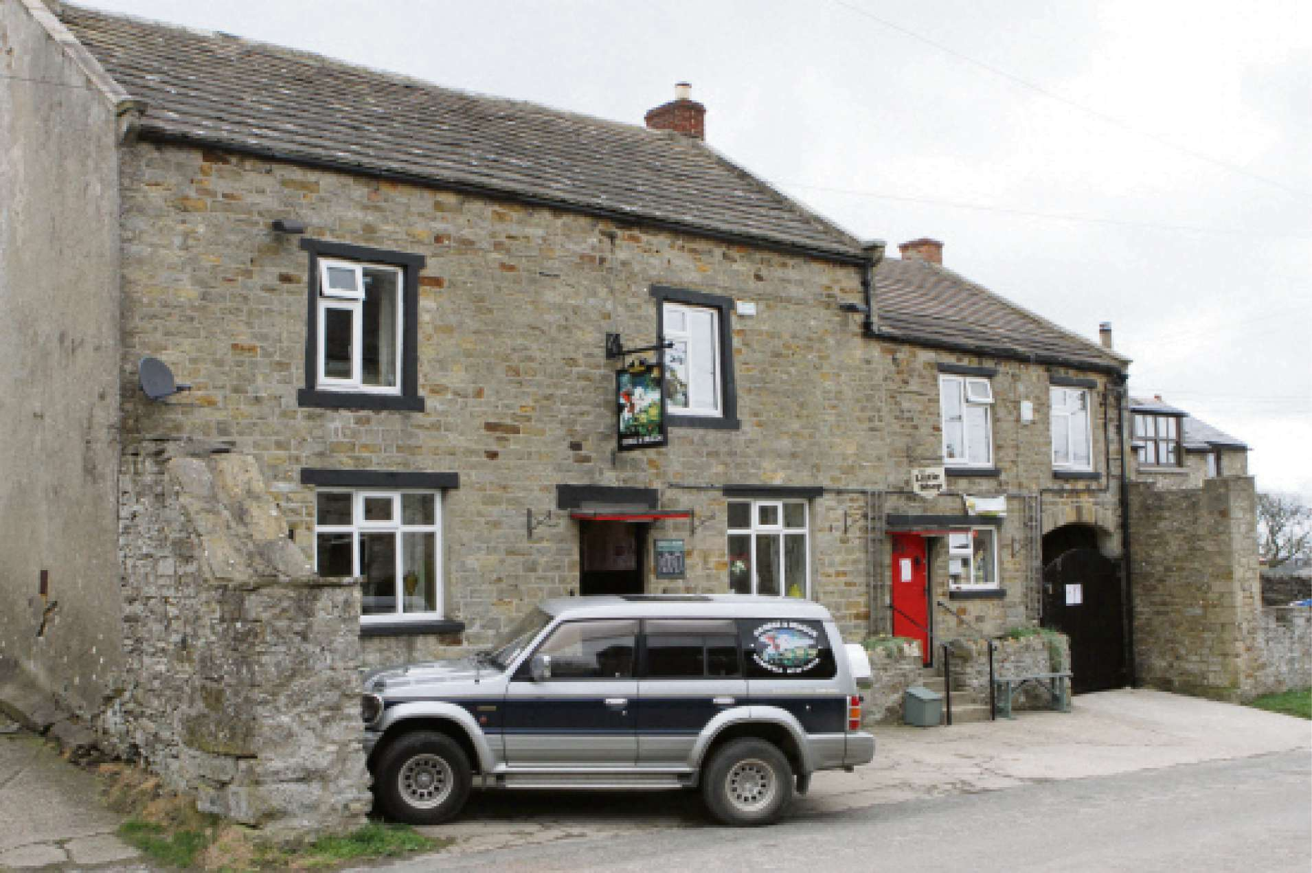 The George and Dragon Hudswell, which is looking for a new tenants.