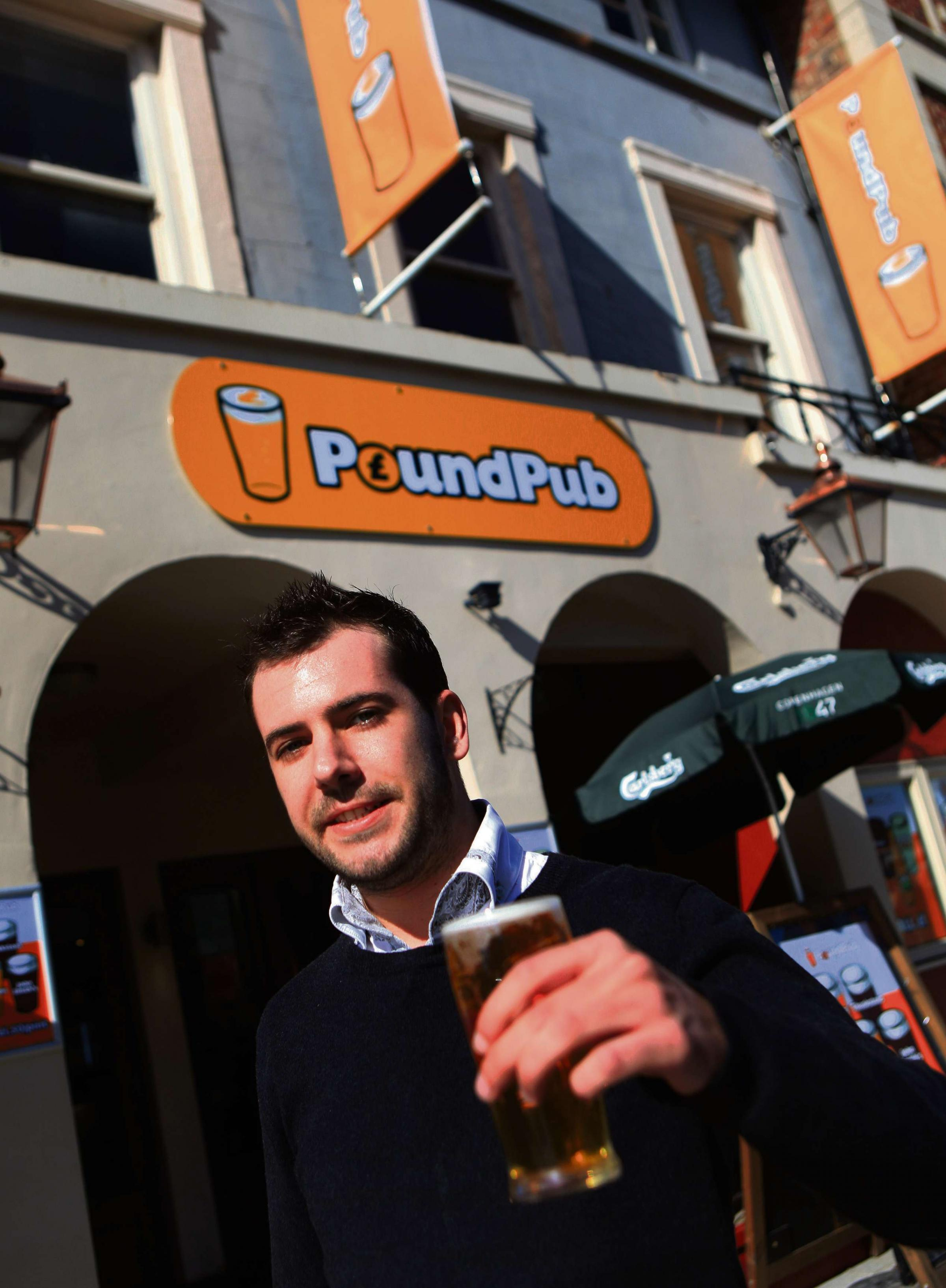 Police withdraw objection to PoundPub's earlier opening times