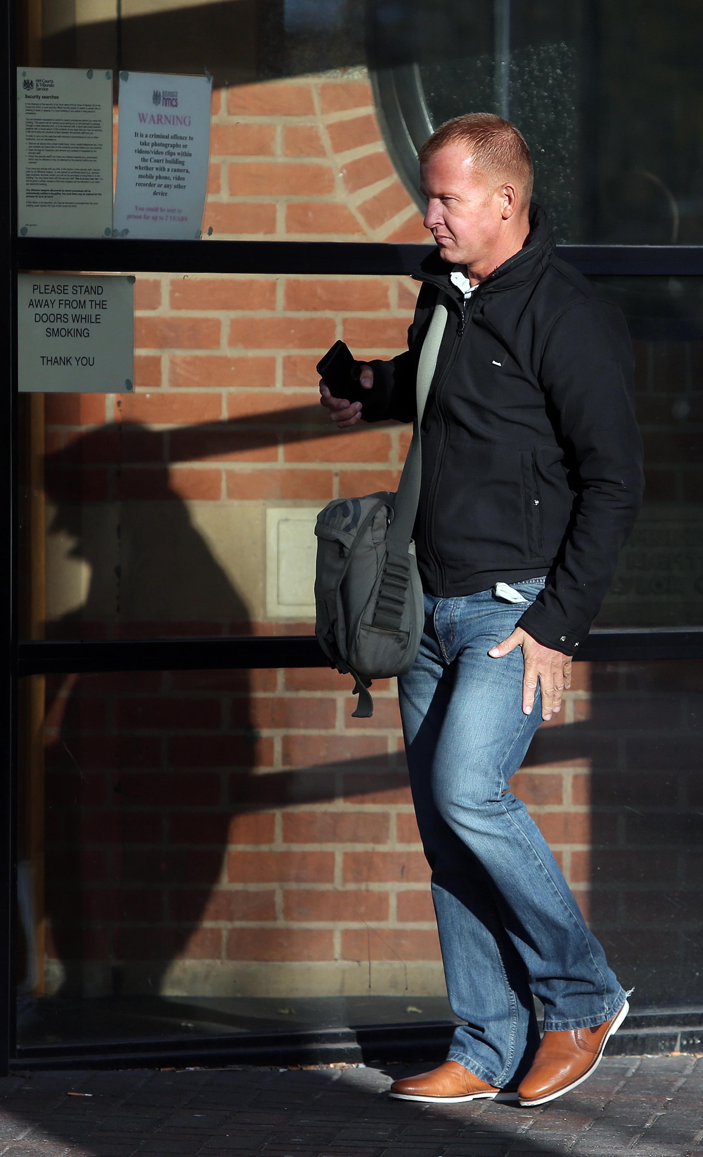 ON TRIAL: Stuart Bell at Teesside Crown Court