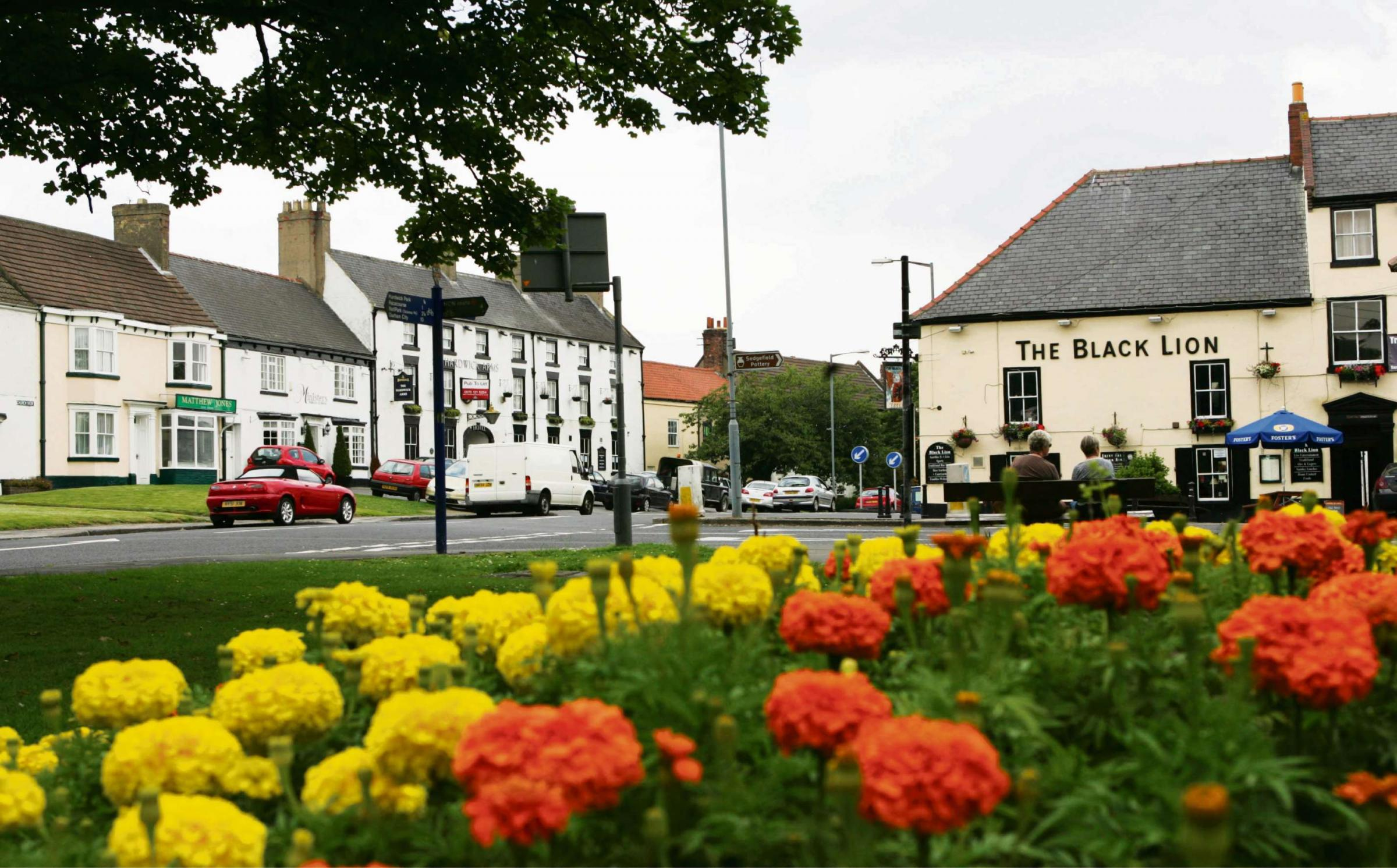 Sedgefield won gold in the Britain in Bloom contest in in 2012. The Sedgefield in Bloom committee is hosting a gardeners' question time event in July.