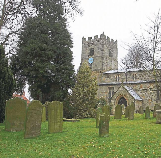 SPLENDID AND FASCINATING: The old church at Easingwold