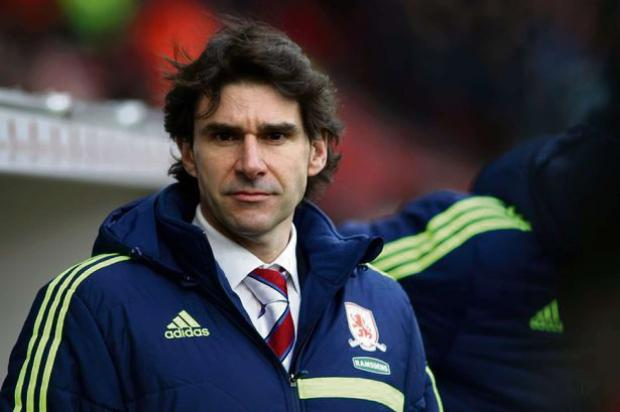 MADE PROGRESS: Aitor Karanka believes the core of a successful Middlesbrough team is already in place