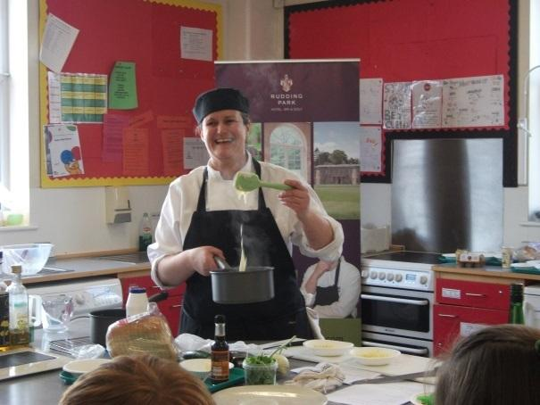 DISH UP: Steph Moon cooks up French Yorkshire  recipes for school
