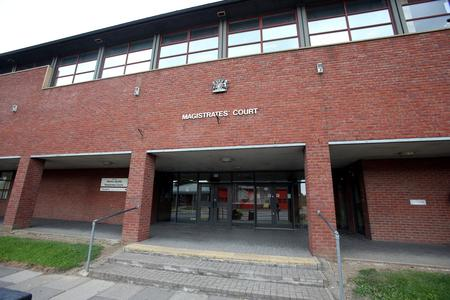 FUEL THIEF: Daniel Hobbs admitted stealing number plates and making off without payment when he appeared at Newton Aycliffe Magistrates' Court