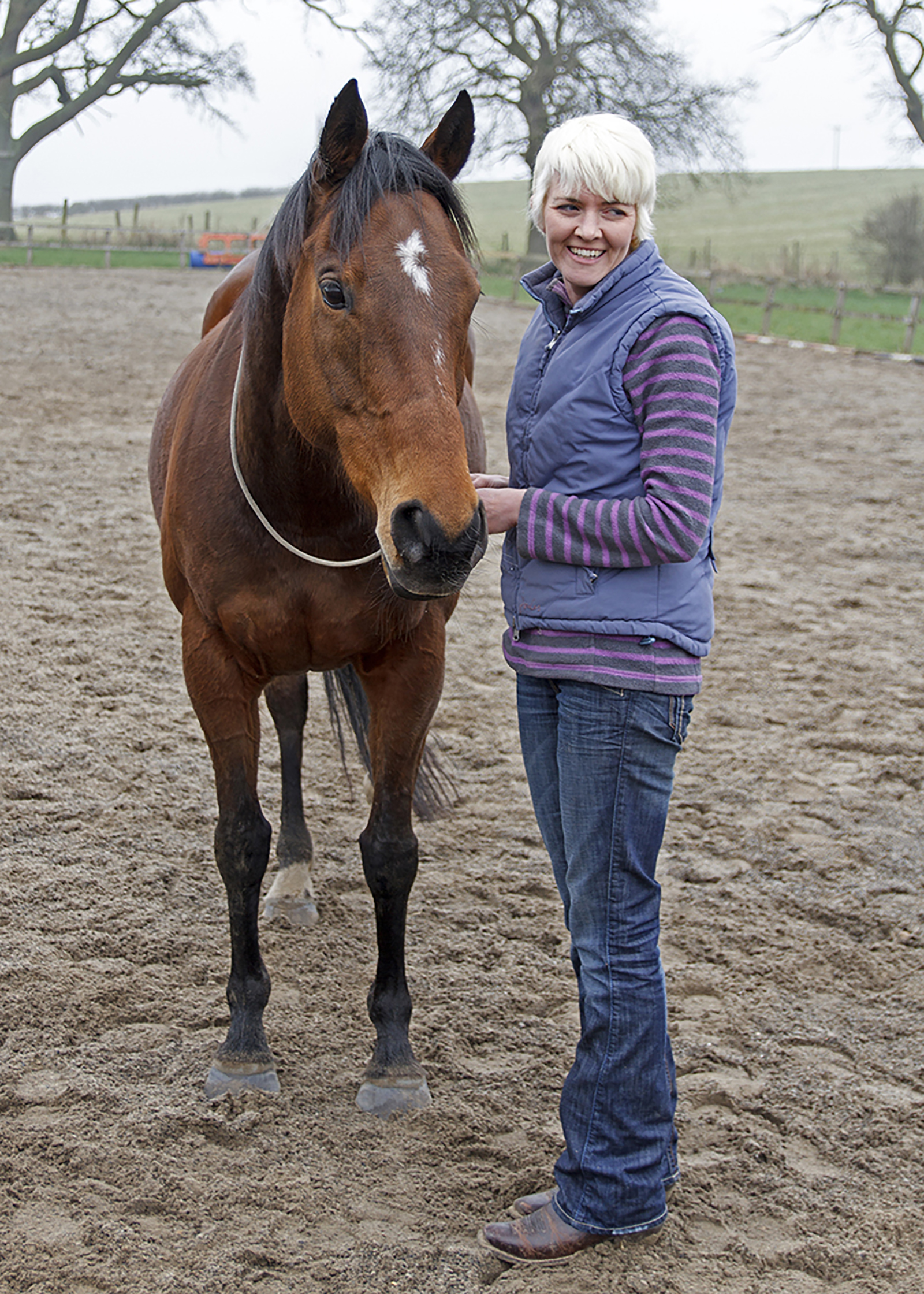 Pioneering equestrian course could help stop prisoners from re-offending
