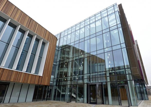 Darlington and Stockton Times: The new Redcar and Cleveland Leisure and Community Heart building where the meeting was held.