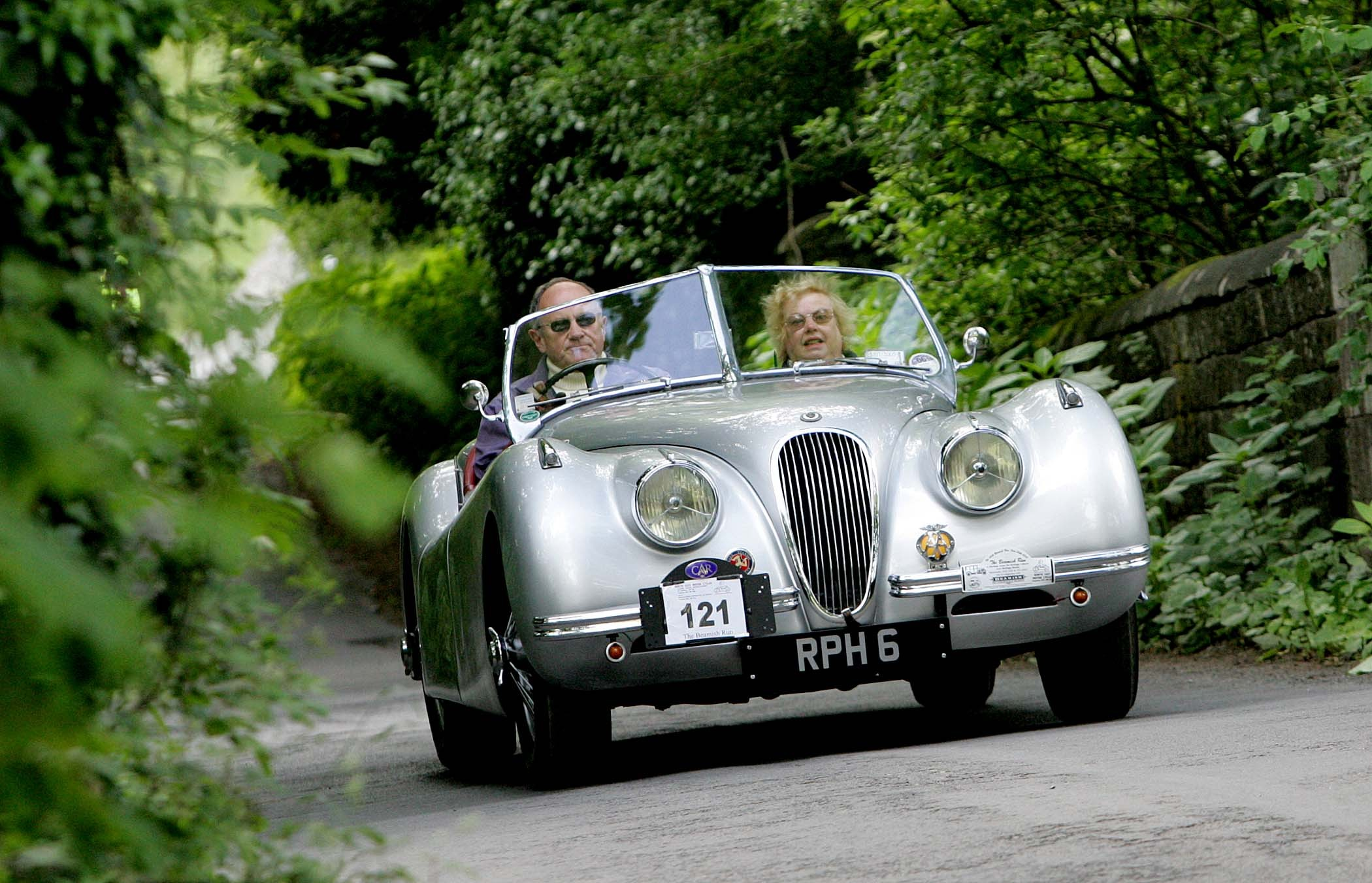 FLASH BACK: A 1952 Jaguar XK during a vintage vehicle rally in County Durham in 2010. File picture: DAVID WOOD