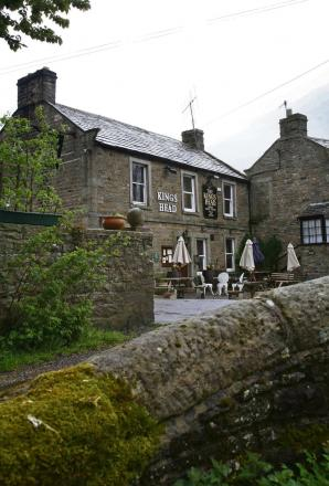 PUB REPAIRS: King's Head in Gunnerside pictured in 2009 before its closure.