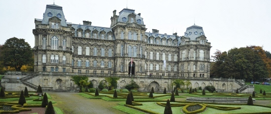 The Bowes Museum, in Barnard Castle, where the garden and grounds will undergo a £3m revamp