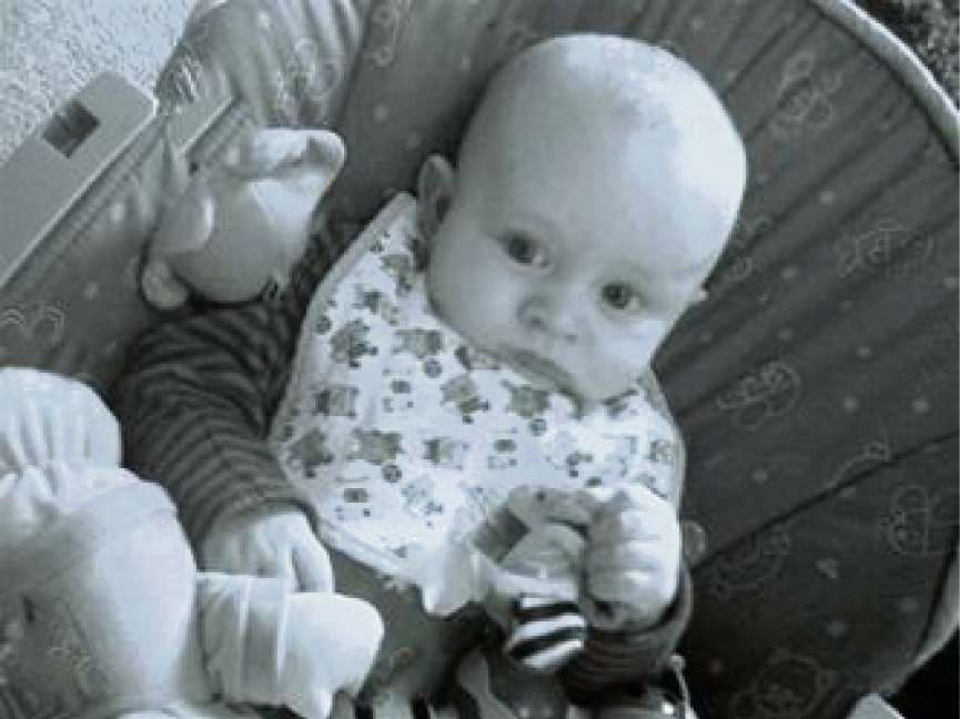 Five-month-old Charlee Cameron Clark, who died in March 2011