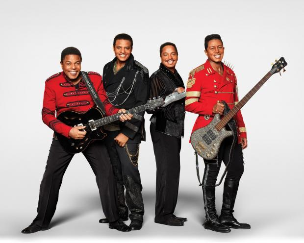 The Jacksons: (L to R) Tito, Jackie, Marlon  and Jermaine.