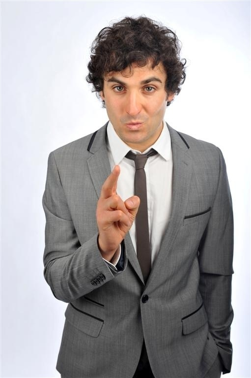 FUNNY MAN: Patrick Monahan, from Middlesbrough