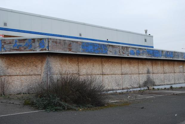 Darlington and Stockton Times: EYESORE: Springs Health Club stood empty from 2007