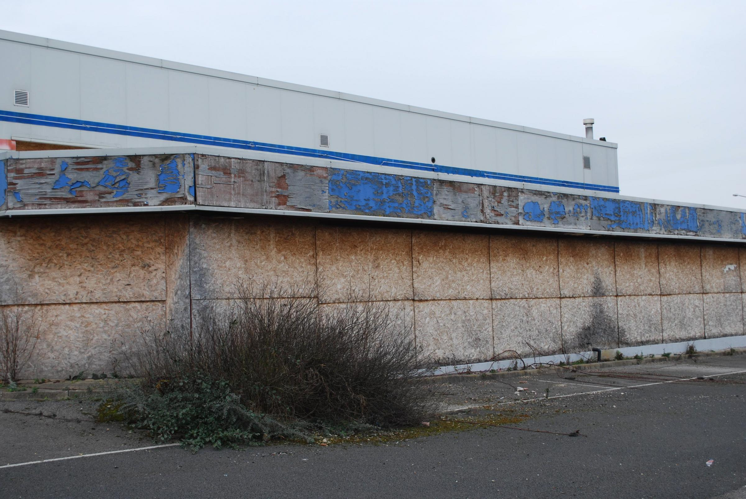 EYESORE: Springs Health Club stood empty from 2007