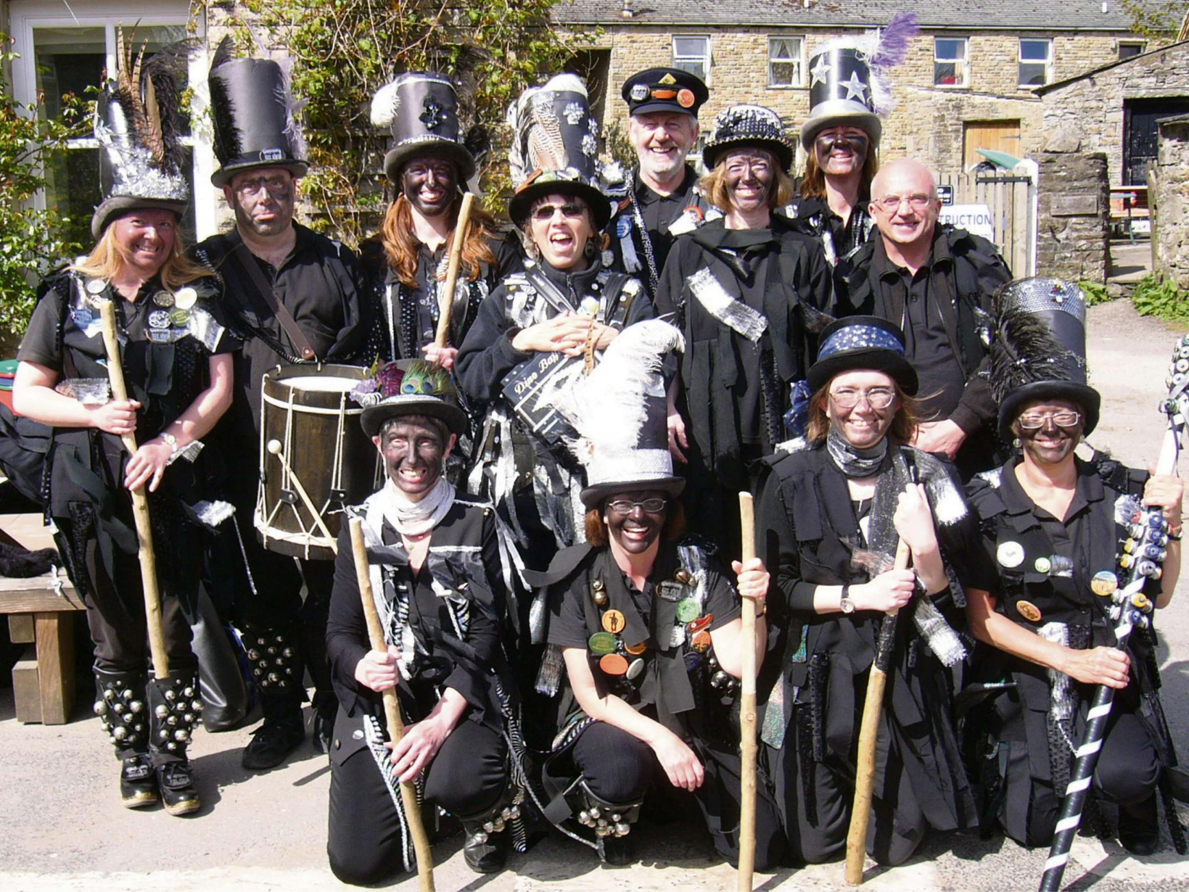 FESTVAL FUN: Morris dancers will be performing throughout the Sadberge festival
