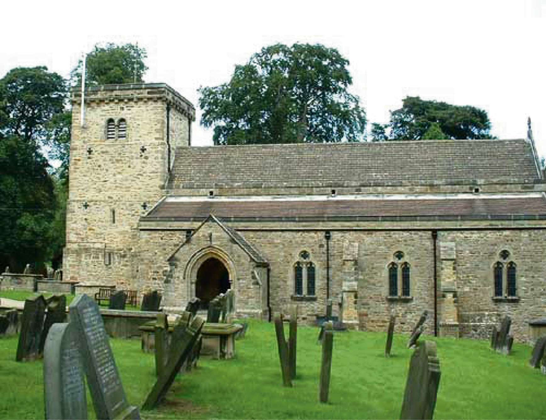 HISTORY GROUP: The church at Middleton Tyas.