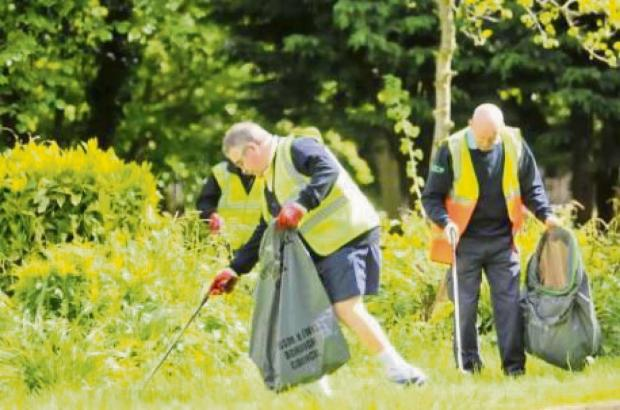 Residents are being encouraged to litter pick in their neighbourhoods
