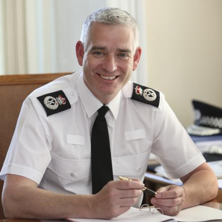 CRIME REDUCTION: Chief Constable Dave Jones from North Yorkshire Police