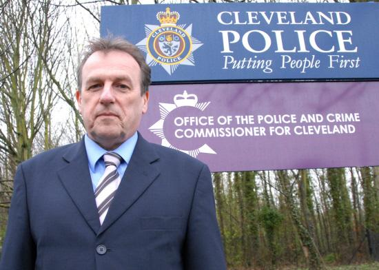 Cleveland police and crime commissioner Barry Coppinger (7104379)