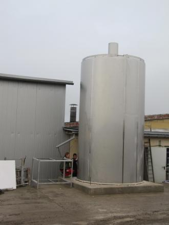 CAPACITY: The Hi-Kool silo can hold up to 40,000 litres