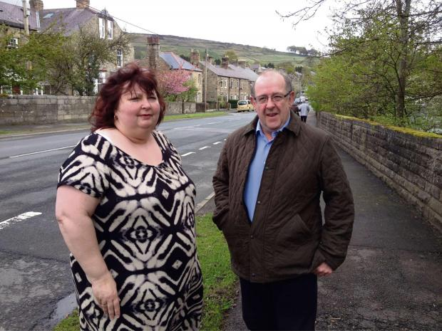 Anita Savory and Stanhope Parish Council chairman Richard Mews have both publicly condemned the decisi