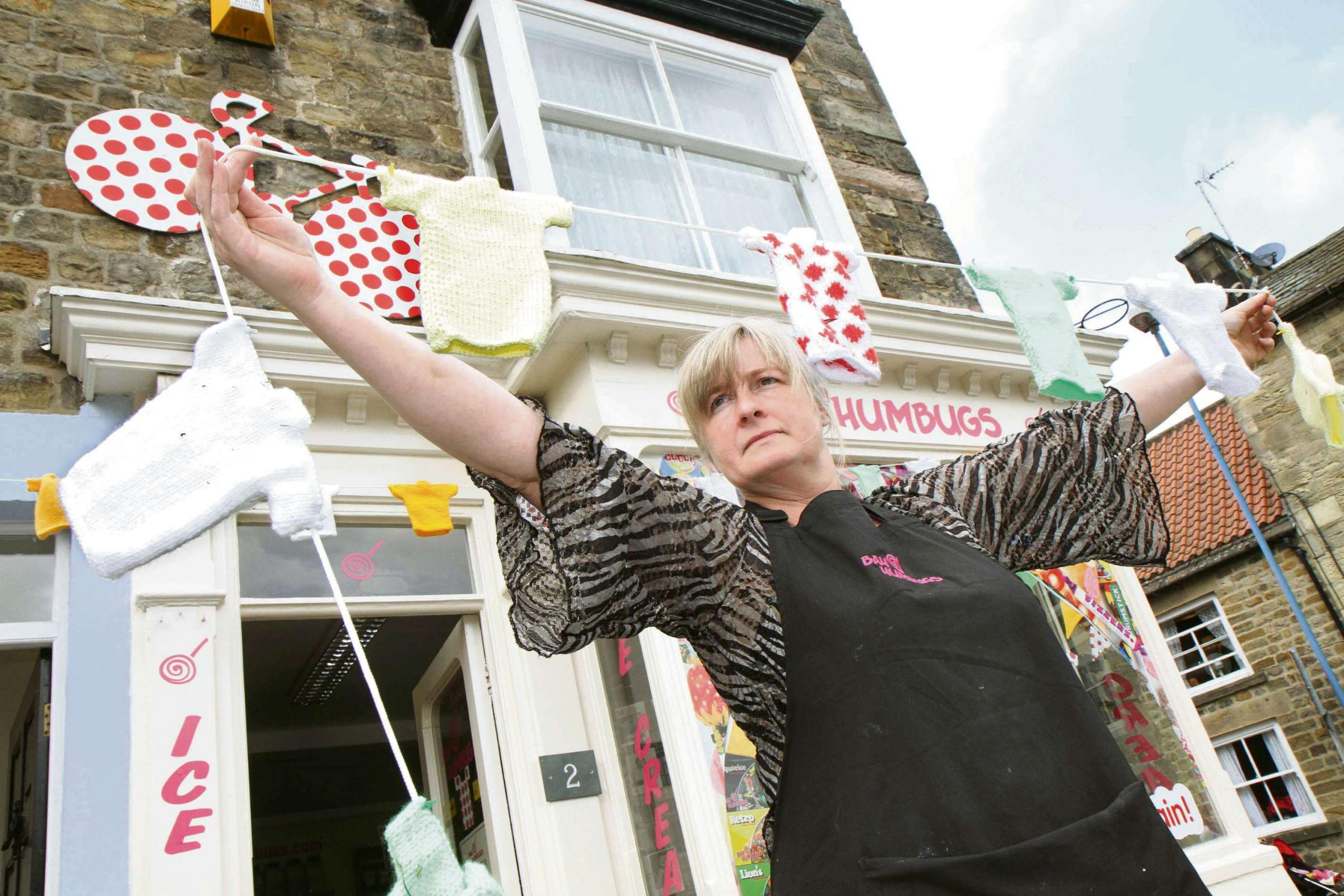 Health and safety 'knit-wits' order Tour de France bunting to be taken down