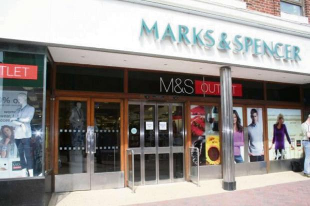 UNDER THREAT: Marks and Spencer store in Redcar
