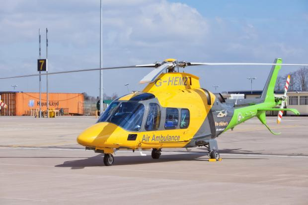 EMERGENCY SUPPORT: The Children's Air Ambulance