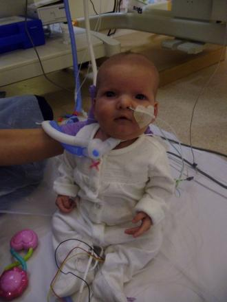 FUNDRAISING INSPIRATION: Anabelle Rose Taylor, who died at four months