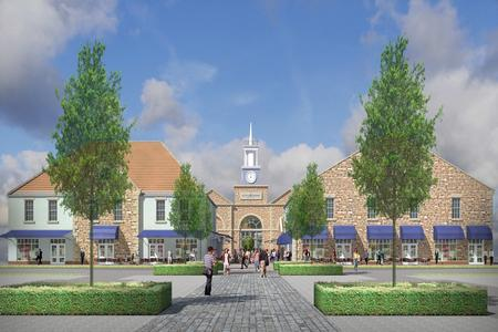 DESIGNER OUTLET: An artist's impression of the new designer village at Scotch Corner