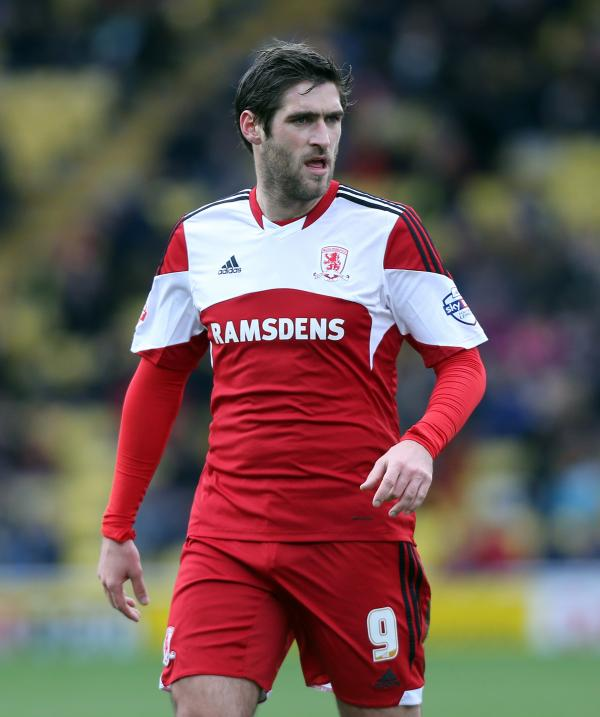 ON THE RADAR: Danny Graham remains a striker option at the Riverside