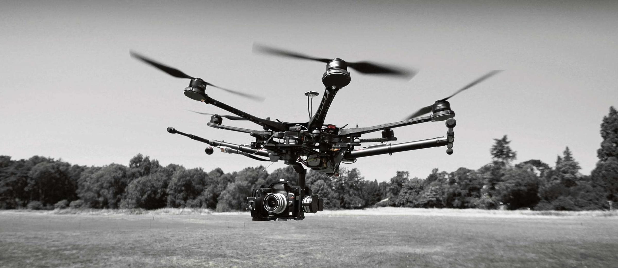 Estate agents use unmanned aircraft to market historic property
