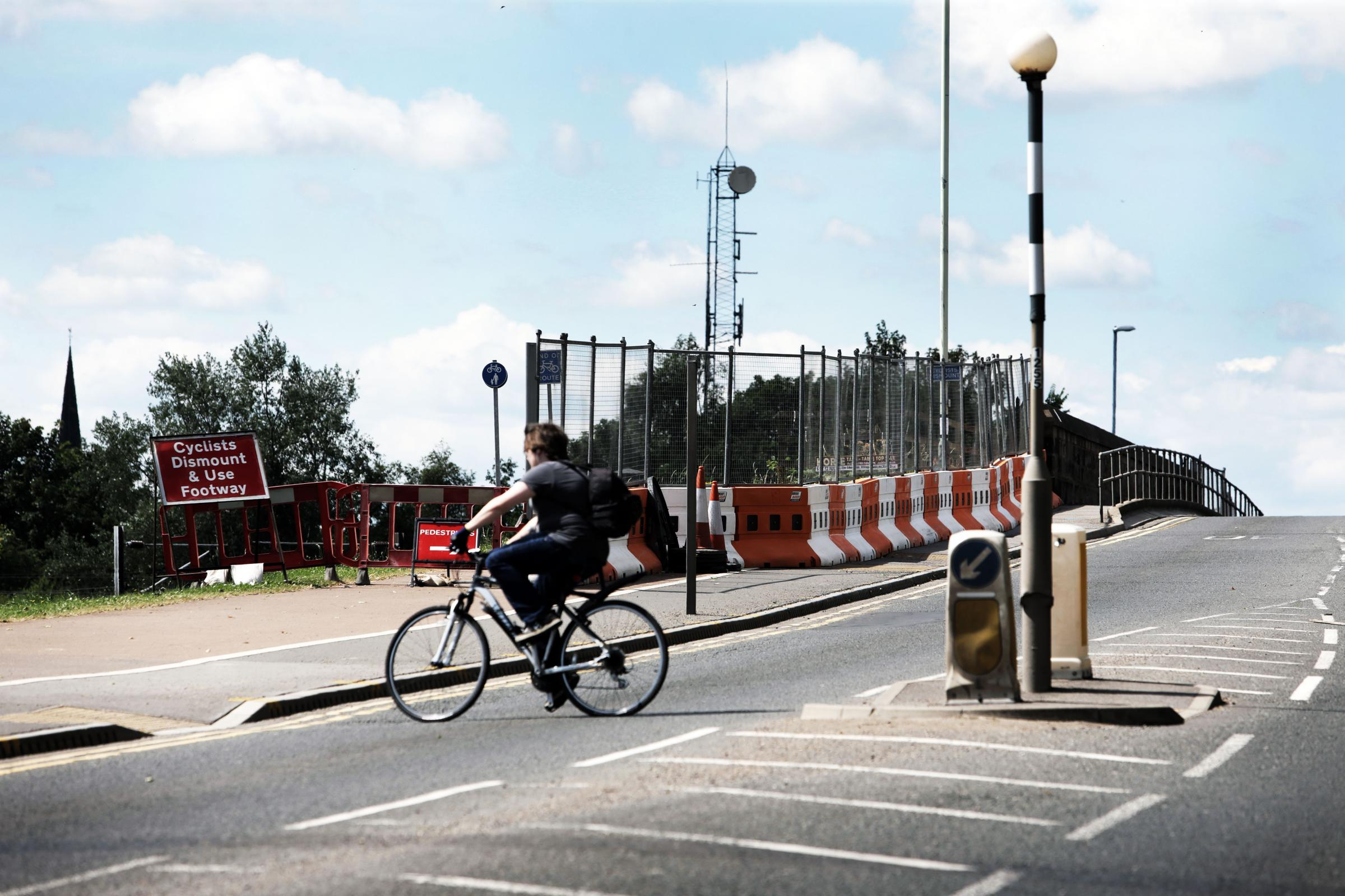 Work on Haughton Road pedestrian bridge set to begin - eight years late