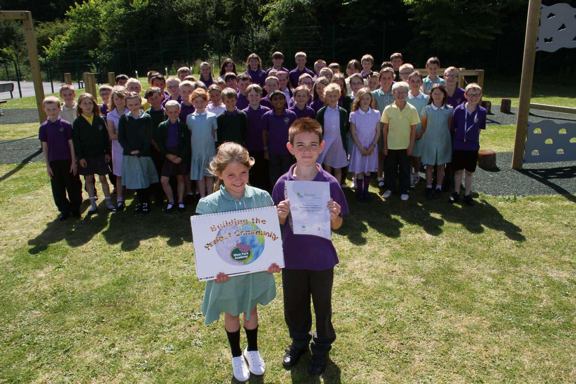 Darlington eco-students scoop Total Green Schools Award