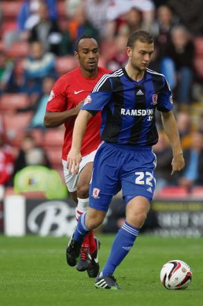 England duty: Ben Gibson is away with Gareth Southgate's Under-21s