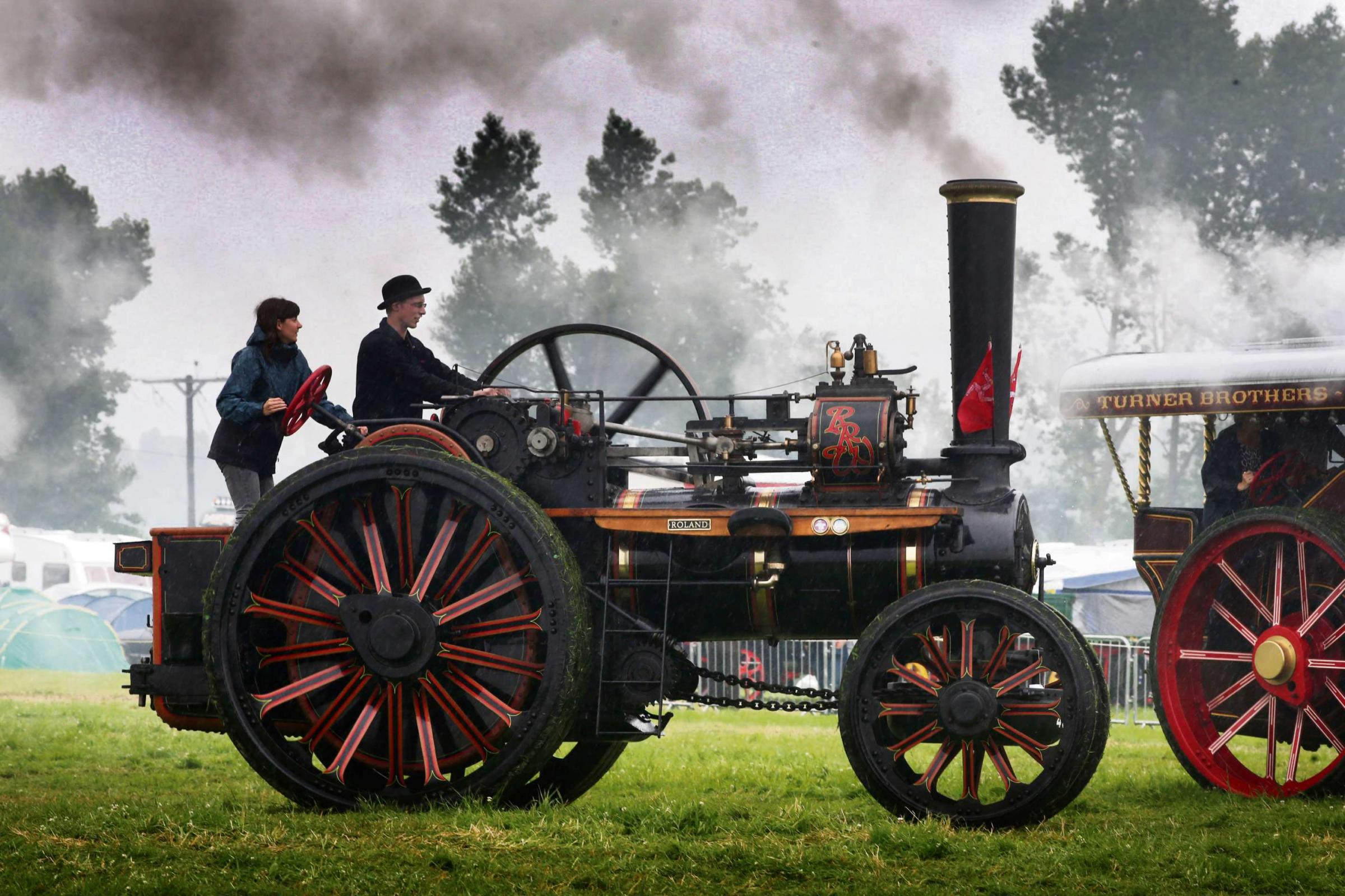 Letting off steam at rally to celebrate engines of all kinds
