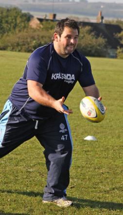 CHARITY DAY: Mowden coach Danny Brown