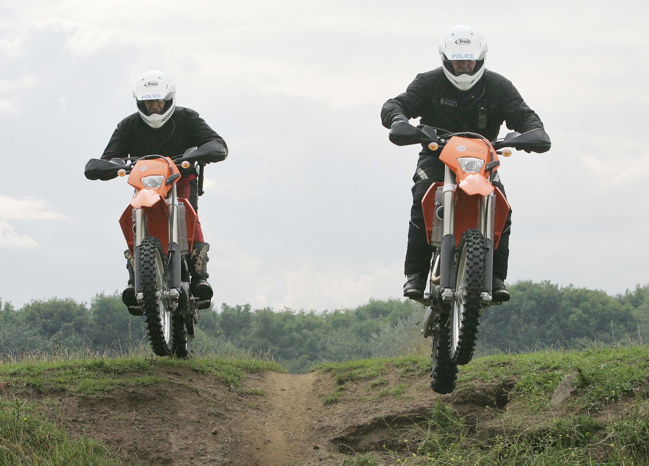 OFF-ROAD CLAMPDOWN: Cleveland Police have been targeting illegal motorcycle riders in east Middlesbrough