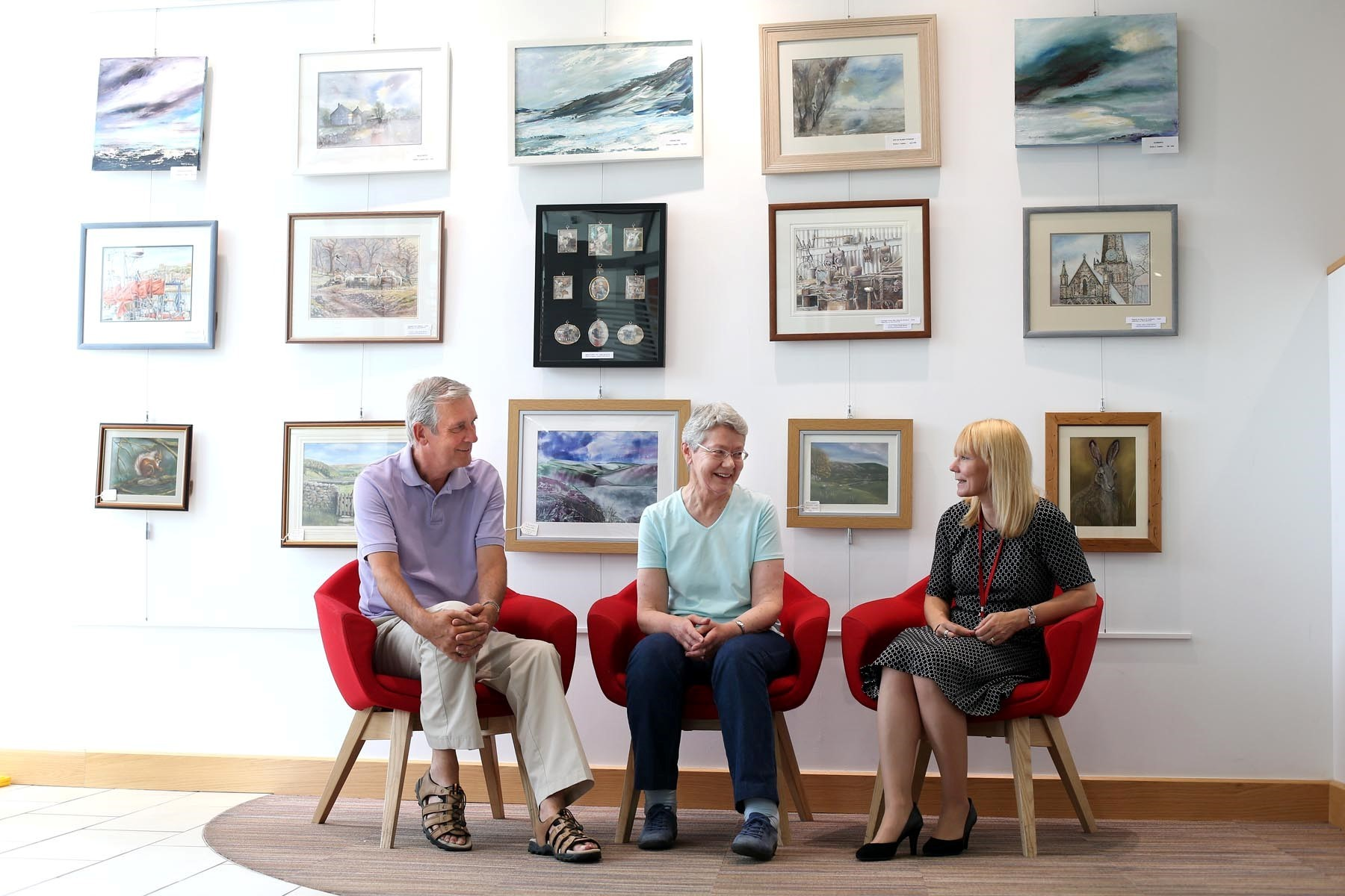 Exhibition of Darlington artists opens