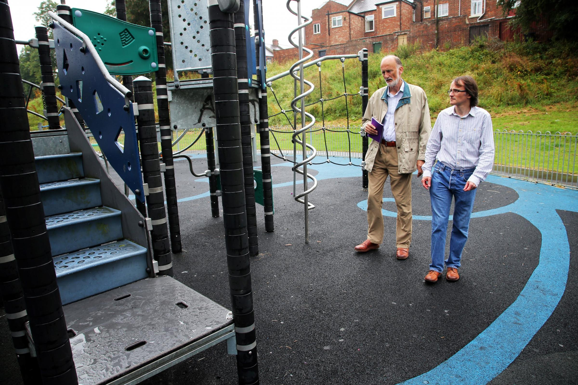 Call for the public to help tackle vandalism in Darlington's play parks