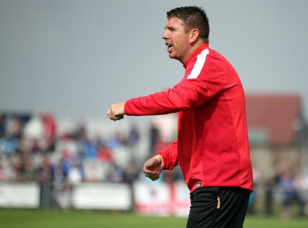 BETTER PREPARED: Darlington manager Martin Gray